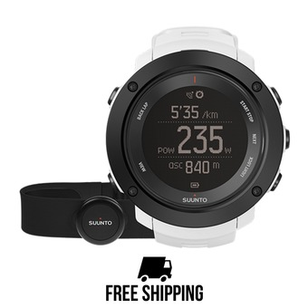 Montre AMBIT3 VERTICAL GPS HR white