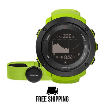 Montre AMBIT3 VERTICAL GPS HR lime