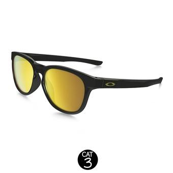 Lunettes STRINGER polished black / 24K iridium