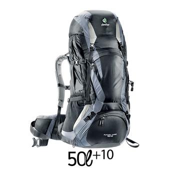 Mochila 50+10L FUTURA VARIO negro/titanio