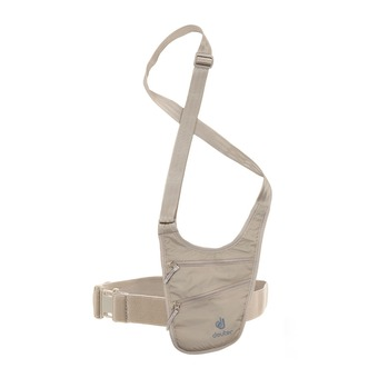 Sacoche bandoulière SECURITY HOLSTER beige