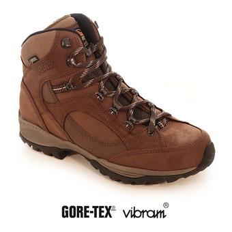 Zapatillas de senderismo mujer TAMPA GTX marrón