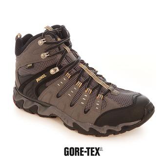 Zapatillas de senderismo hombre RESPOND MID GTX antracita/amarillo