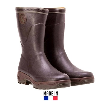 Botas de goma hombre PARCOURS II brun