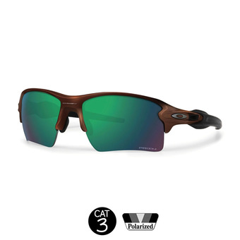 Gafas de sol polarizadas FLAK 2.0 XL matte brown w/prizm shallow