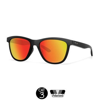 Gafas de sol MOONLIGHTER matte black w/ruby iridium polarizadas