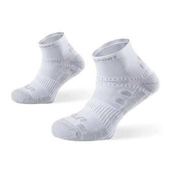 Calcetines de running XLR blanco