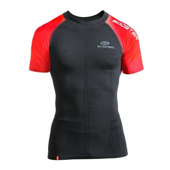 Camiseta SKAEL negro/rojo