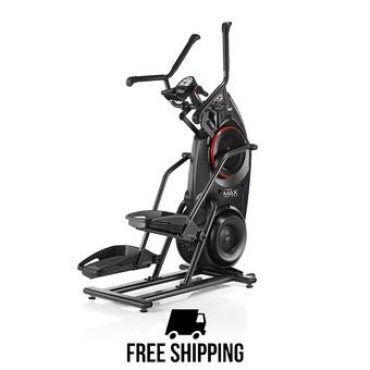 Vélo elliptique stepper MAXTRAINER M3 noir/rouge