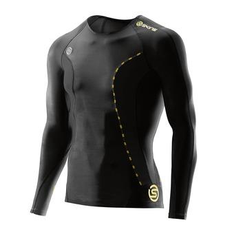 Camiseta de compresión hombre DNAMIC black