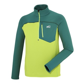 Camiseta hombre TECHNOSTRETCH acide green/jasper