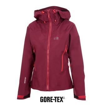 Chaqueta Gore-Tex® mujer LD KAMET velvet red