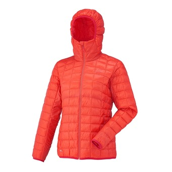 Anorak mujer LD DRY MICROLOFT hot coral