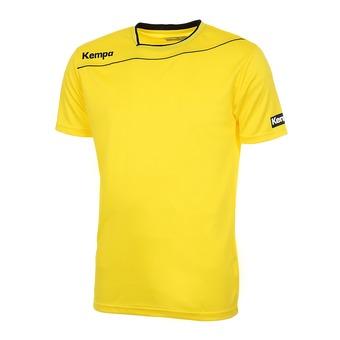 Maillot MC homme GOLD jaune citron/noir