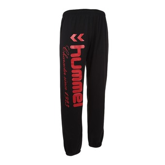 Pantalón de chándal UNIVERS negro/rojo