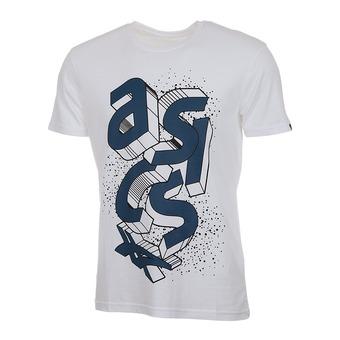 Tee-shirt MC homme BLOCK reel white