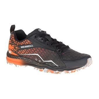 Zapatillas de trail hombre ALL OUT CRUSH TOUGH MUDDER orange