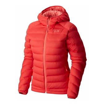 Anorak mujer STRETCHDOWN scarlet red