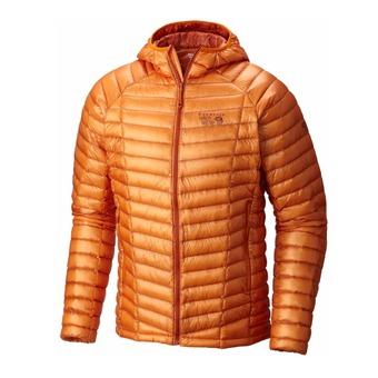 Doudoune à capuche homme GHOST WHISPERER orange copper