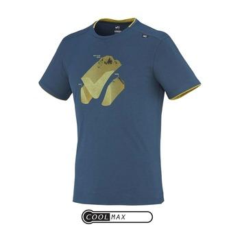 Tee-shirt MC homme MONTE BIANCO majolica blue