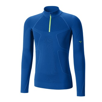Maillot de compression 1/2 zip running ML homme WAVETECH skydiver
