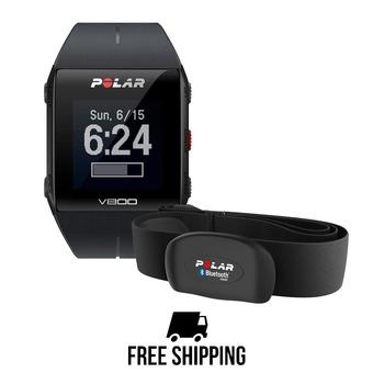 Reloj GPS V800 HR negro