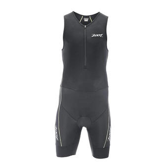 Traje de triatlón hombre PERFORMANCE black/pure yellow