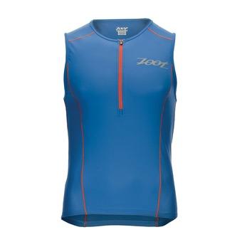 Débardeur 1/2 zip trifonction homme ACTIVE vivid blue/vivid blue