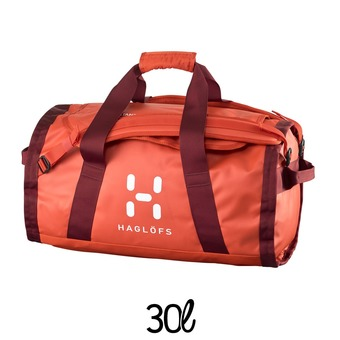 Sac de sport 30L LAVA habanero/dark ruby