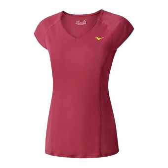 Maillot MC femme COOLTOUCH PHENIX raspberry wine