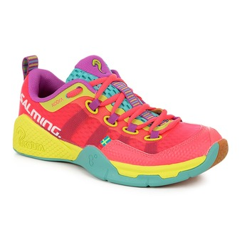 Chaussures indoor hand femme KOBRA rose/turquoise