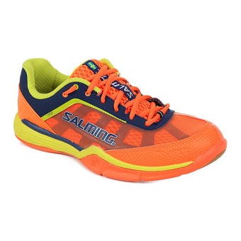 Zapatillas indoor balonmano hombre VIPER 3 naranja