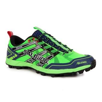 Chaussures running/trail homme ELEMENTS gecko/marine