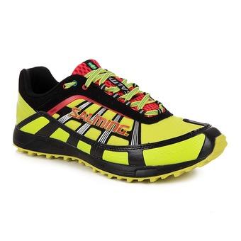 Chaussures running/trail homme TRAIL T2 jaune/noir
