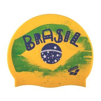 Gorro de natación PRINT 2 flag Brasil