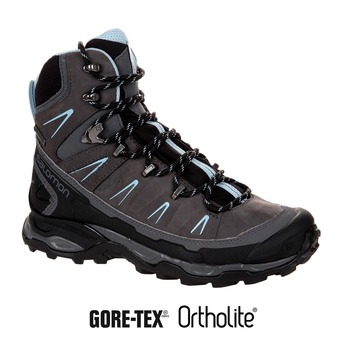 Zapatillas de senderismo mujer X ULTRA TREK GTX® dark cloud/black/cristal