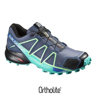 Chaussures trail femme SPEEDCROSS 4 PRO slateblue/spa blue/fresh green