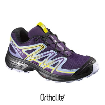 Zapatillas trail mujer WINGS FLYTE 2 cosmic purple/pale lilac/black