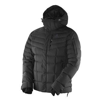 Chaqueta con capucha de esquí hombre ICETOWN black
