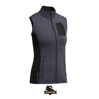 Chaleco mujer ATOM panther/black/panther