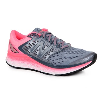 Chaussures running femme 1080 V6 silver/pink