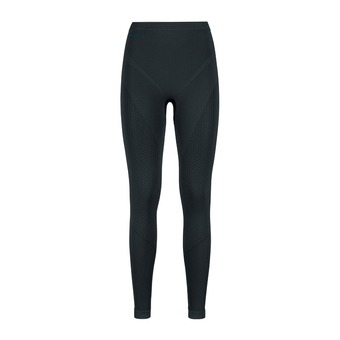 Mallas mujer EVOLUTION WARM black/odlo graphite grey