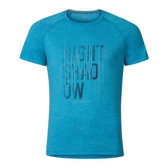 Camiseta hombre RAPTOR blue jewel melange