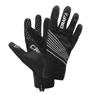 Guantes STORM black/white