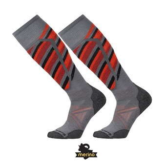 Chaussettes de ski SKI MEDIUM PATTERN graphite