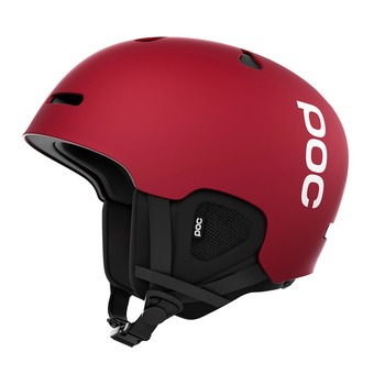 Casco de esquí AURIC CUT bohrium red