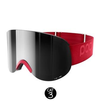 Gafas de esquí LID glucose red-bronze/silver mirror