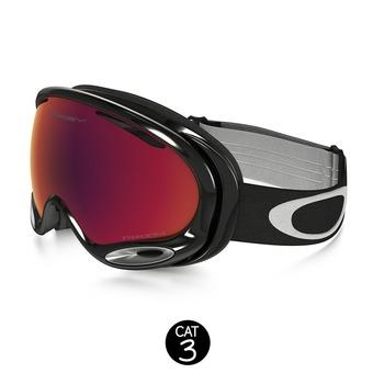 Gafas de esquí A-FRAME 2.0 jet black - prizm torch iridium