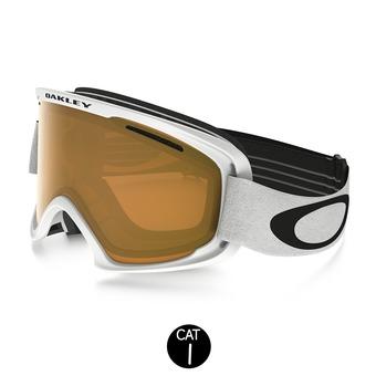 Gafas de esquí O2 XM matte white - persimmon