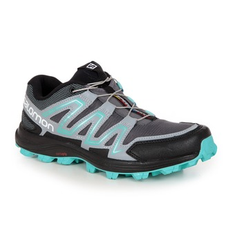 Zapatillas trail mujer SPEEDTRAK dark cloud/light onix/bubble blue